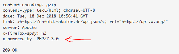 Enfold with PHP 7.3